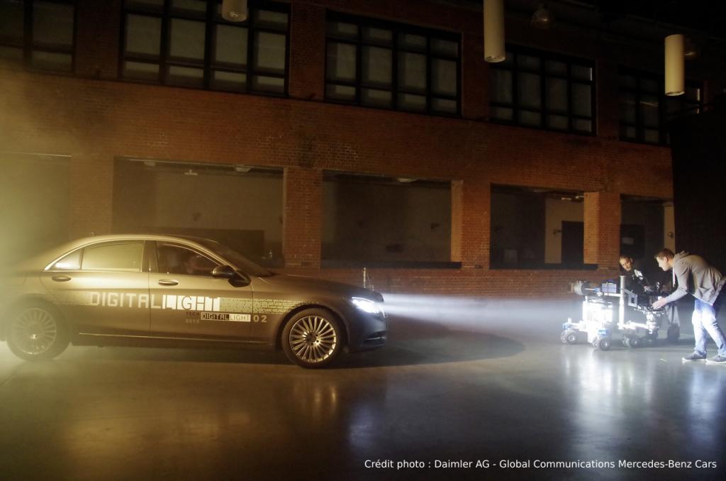 L'éclairage du futur Mercedes-benz