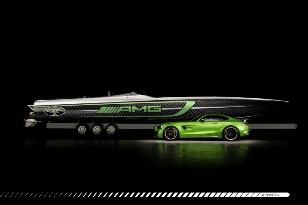 Mercedes-AMG et Cigarette Racing
