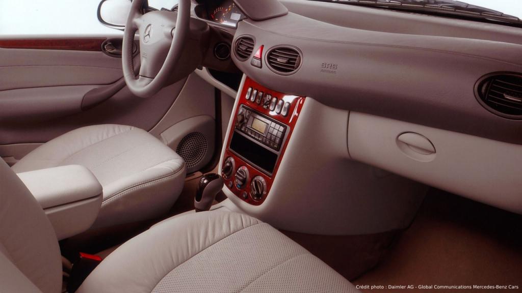 Mercedes Classe A intérieur