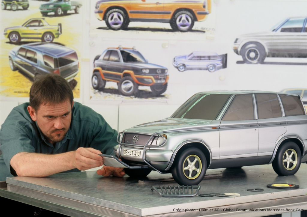 Mercedes-Benz Classe M Etude