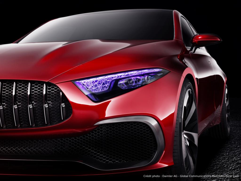 Mercedes Concept A Sedan face avant
