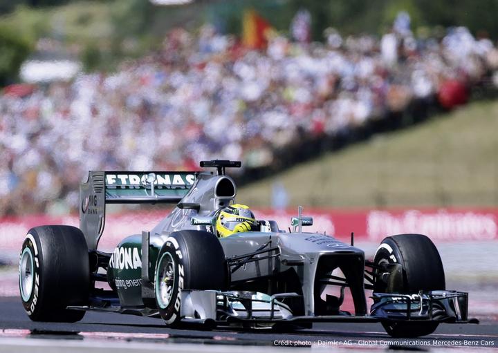 MERCEDES PETRONAS F1 2013