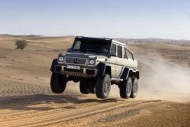 Mercedes-Benz G-Klasse, Showcar G 63 AMG 6x6 aus dem Jahr 2013.   Mercedes-Benz G-Class, G 63 AMG 6x6 show car from 2013.