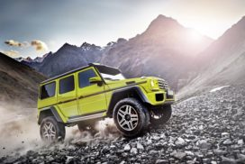 Mercedes-Benz G-Klasse, Showcar G 500 4x4² aus dem Jahr 2015.   Mercedes-Benz G-Class, G 500 4x4² show car from 2015.