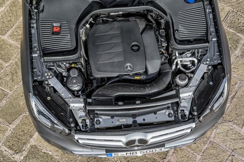 Mercedes-Benz GLC (X253), 2019, designo selenitgrau magno, Polster Leder sattelbraun   Mercedes-Benz GLC (X253), 2019, designo selenite grey magno, saddle brown leather interior
