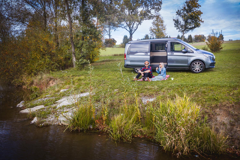Mercedes-Benz Marco Polo ArtVenture Sondermodell, Exterieur Mercedes-Benz Marco Polo ArtVenture special model, Exterior